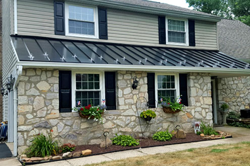 Mark J Fisher Roofing - Colmar Metal Roofing