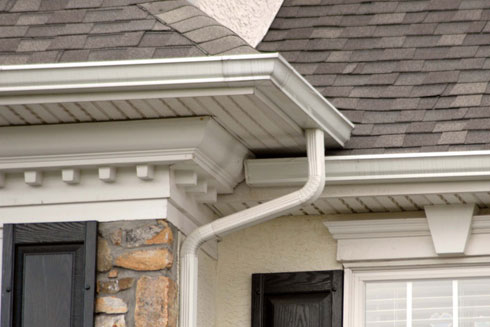 Mark J Fisher Roofing - Fountainville Gutter Installation