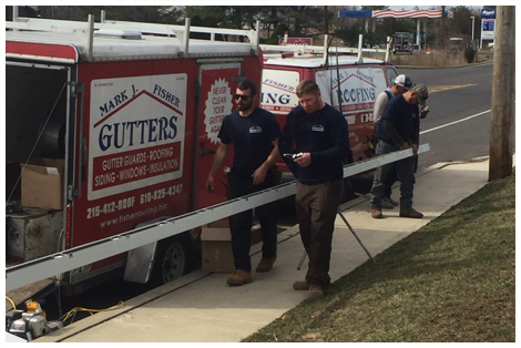 Gutter Installation Mark J Fisher Roofing Quakertown